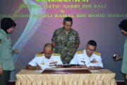 Malaysian Armed Forces Defence College Commandant's  Handing Over Ceremony